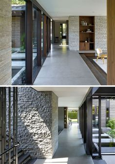 This is what a wall of bush hammered concrete looks like - Concrete floors in house ...