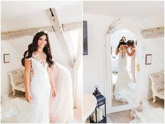 Lace wedding dress Bee Cakes, Glorious Days, Lace Wedding, Wedding Dresses, Outdoor Ceremony, Hair Beauty, Beautiful, Fashion, Bride Dresses
