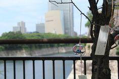 wind bell near Osaka Castle, Osaka