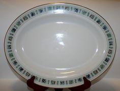 Royal Doulton Tapestry, Serving Platter, Royal Doulton Serving Platter, Oval Platter, Vintage Royal Doulton, English China, Royal Doulton