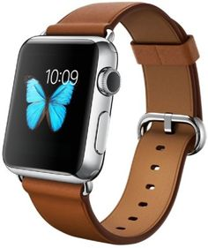 Apple Watch 42 mm Stainless Steel Case with Classic Buckle Smartwatch