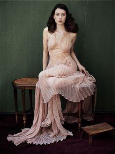 Astrid Berges-Frisbey in Vanity Fair