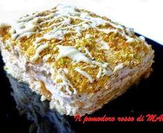 Mattonella di mascarpone, crema di nocciole e pistacchi
