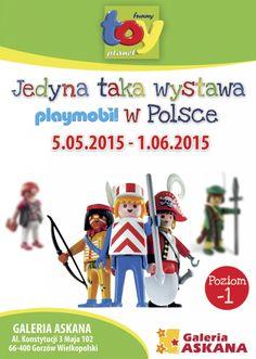 Galeria Askana | Jedyna w Polsce interaktywna wystawa Playmobil w Galerii Askana!