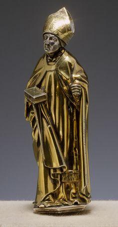 Standing Bishop, 1508–12 Hans von Reutlingen or Workshop Germany (Aachen) Silver, gilt silver