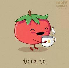 Toma té