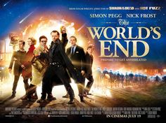 The World Ends  Title: The Worlds End Release Date: 19/07/2013 Genre: Comedy / Sci-Fi Country: UK Cast: Simon Pegg, Nick Frost, Paddy Considine, Martin Freeman, Eddie Marsan  Rosamund Pike Director: Edgar Wright Studio: Relativity Media  Working Title Films  Distribution: Universal Pictures