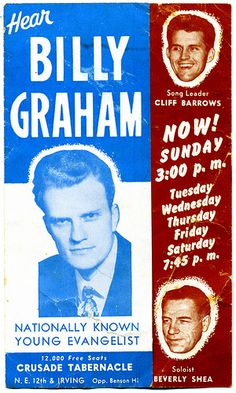 Billy Graham Crusade, Portland, OR 1950