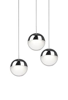 Bring a contemporary elegant design to your home by choosing this Radionic Hi Tech Morris Equivalence Chrome Integrated LED Pendant. Lighting Inc, Lighting Showroom, Pendant Lighting, Deco Luminaire, Multi Light Pendant, Led, Shape Design, Polished Chrome, Clear Acrylic