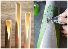Riciclo Creativo: Creare una Lampada con il Riciclo Creativo dei tubi in pvc