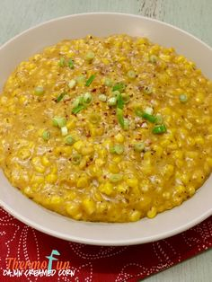 This thermomix cajun creamed corn recipe is one that will have you sitting down saying to yourself after every mouthful, Oh My! Oh My! Maybe not like Meg Ry