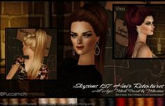 three Hair retextures, credits : Newsea, Skysims,Cazy, Pooklet and io. All ages, mesh included. Download Newsea Canalis Retextures | Angles Download Cazy Artificial Retextures | Angles Download...
