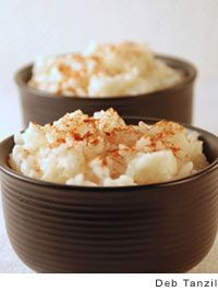Portuguese Rice Pudding from Leite's Culinaria - From Velma Demello (Velma uses vanilla instead of lemon juice. Portuguese Rice, Portuguese Desserts, Portuguese Recipes, Delicious Desserts, Yummy Food, Gourmet Desserts, Plated Desserts, Breakfast Recipes, Dessert Recipes
