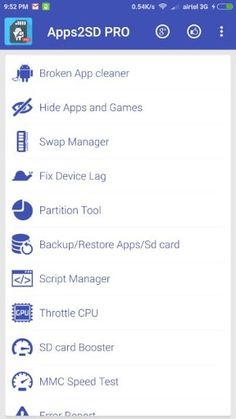 App2SD PRO: All in One Tool v12.0 [Patched]   App2SD PRO: All in One Tool v12.0 [Patched]Requirements:2.3Overview:Apps2SD is your personal app manager which brings you a hassle free and very interactive interface to solve this problem by moving/linking all your apps to the SD card. To make the task even easier it comes with an inbuilt partition tool for your SD card.  Apps2SD has evolved from being an app which moves app data to sd card to an all in one app with many cool features. It is one…