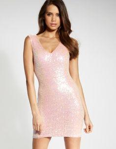 Lipsy Sequin Shift Dress