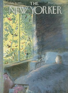 The New Yorker - Saturday, July 16, 1955 - Issue # 1587 - Vol. 31 - N° 22 - Cover by : Garrett Price
