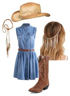 """cowgirl style"" by sassy-rice on Polyvore"