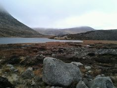 Lake in the mourne valley