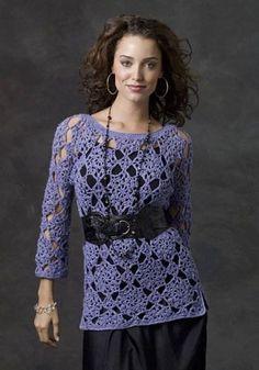MADE TO ORDER  elegant summer crochet tunic