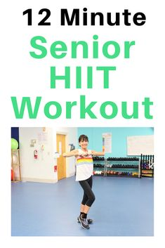 Kick up your metabolism and burn fat fast with this low impact HIIT workout specifically for seniors Weight Loss Challenge, Weight Loss Transformation, Low Impact Hiit, Low Impact Cardio Workout, Hiit Program, Lower Belly Fat, Lose Belly, Aerobics Workout, Senior Fitness