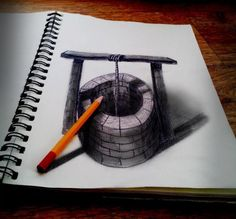 20 Beautiful 3D Pencil Drawings and 3D Art works - Part 2