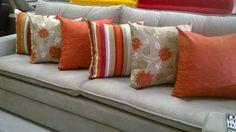 Bohemian Art, Toss Pillows, Cushions, Orange Pillows, Decorative Throw Pillows, Pillowcases, Pillow Covers, Pine Apple, Stripes