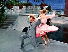 """Betty Haynes (Rosemary Clooney): [finding Judy and Phil embracing] """"What is this? The best two outta three?"""" // Judy Haynes (Vera-Ellen): """"I guess I got carried away."""" // Phil Davis (Danny Kaye): """"Yes, she carried me right with her - I don't weigh very much."""" -- from White Christmas (1954) directed by Michael Curtiz"""