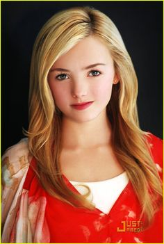 Peyton List!!! I got to see her at the mall, she signed me notebook!!!