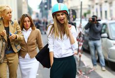 Yes, Helmet Hair Can Be Chic! Stylish Riders Share Their Best Tips