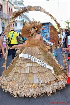 Reine de Fort de France 2016. Martinique carnaval