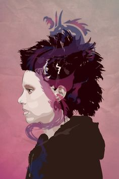 Lisbeth - The Girl with the Dragon Tattoo - Mik4g.deviantart.com