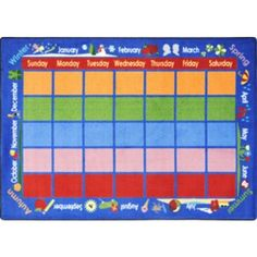 "Educational Celebrations Calendar Kids Rug Rug Size: 7'8""... https://www.amazon.com/dp/B00632FT46/ref=cm_sw_r_pi_dp_U_x_w3EkAb8WXKDW5"