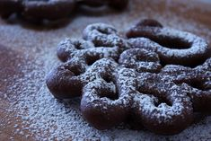 Mexican Chocolate Funnel Cake