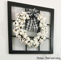 Výsledek obrázku pro cotton wreath