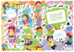 Egyszerű szabályok, betű és hangzóazonosítás játékosan. Óvodásoknak, kisiskolásoknak remek gyakorlási lehetőség, de még a felnőttek is jól szórakoznak játék közben.