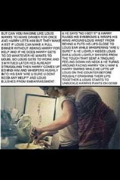 Can someone please finish this???? PLEASE?? Larry Stylinson