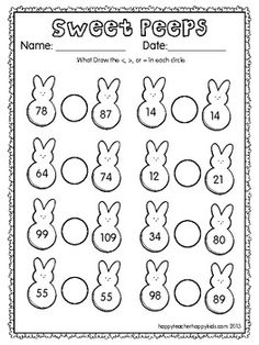Hidden Peeps - Fun, spring themed maths sheet for Stage 3/4 ...