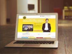 Criado com técnicas de Landing Page, o site da Oficina do Sucesso, empresa do palestrante André Ortiz, é uma referência no mercado. Um site completamente intuitivo e com navegação fácil.