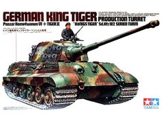 "Model Tamiya 35164 German tank King Tiger ""Production Turret"""