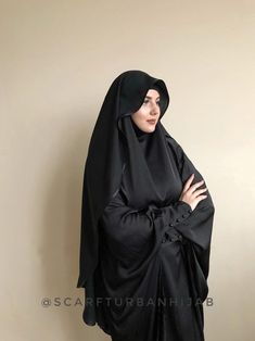 Black Crepe chiffon veil, Muslim clothing, hijab Source by zozorafat clothes hijab Hijab Outfit, Hijab Gown, Arab Girls Hijab, Girl Hijab, Hijab Bride, Modern Hijab Fashion, Muslim Fashion, Abaya Fashion, Modest Fashion