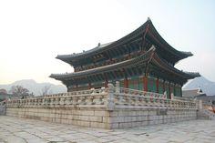 Korean castle, @Seoul city
