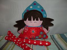 Baby friendly doll WIP by ImAGingerMonkey, via Flickr