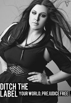 Ditch the Label: campaign for equality and a world without prejudice. Summer 2012 campaign: curvy, gorgeous, beauty, beautiful, real, model, woman, inspirational, inspiration, stunning, pretty, ditch the label, plus sized model, happy