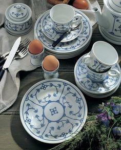Tradition Speiseteller Blau Saks