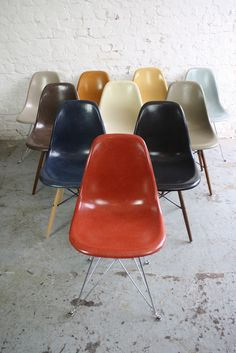 Eames colours at Lovely & Co.