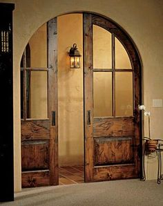 Pocket doors, so nice to tuck the doors away like they aren't there. Much more inviting than showing the doors and the option of closing off the room. Doors, Beautiful Doors, Home Doors, House Styles, House Design, Remodel, Pocket Doors, Home Decor, House Interior