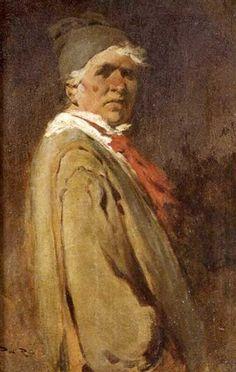 Pintor con corbata roja by Alberto Pla y Rubió Impressionist Artists, Spanish, Painting, Ties, Blond, Painting Art, Paintings, Spain, Painted Canvas