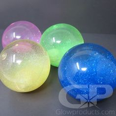 Light Up LED Flashing Bouncy Balls are fun glowing bouncy balls filled with water and sparkles! Just bounce them to turn them on! When activated the Light Up Bouncing Balls are fun, flashing, glittering and action packed! Glow Party Food, Led Hula Hoop, Bouncy Ball, Glow Sticks, Cool Toys, Light Up, Light Colors, Things That Bounce, Glow Products