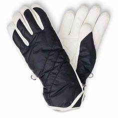 Bogner Benita Womens Ski Glove in Navy And White Women's Ski Gloves, Womens Ski, White Stone, Navy And White, Skiing, Range, Snow, Fashion, Ski