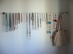Decorative Necklace Display